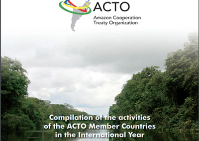 Compilation of the activities of the ACTO MC in the International Year of Biodiversity