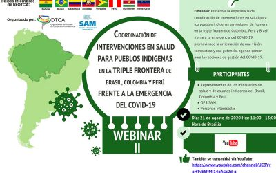 Webinario Salud para Pueblos Indígenas en la Triple Frontera de Brasil, Colombia y Perú