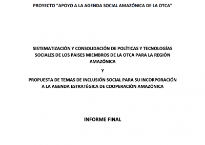 Project Support to the Amazonian Social Agenda of ACTO