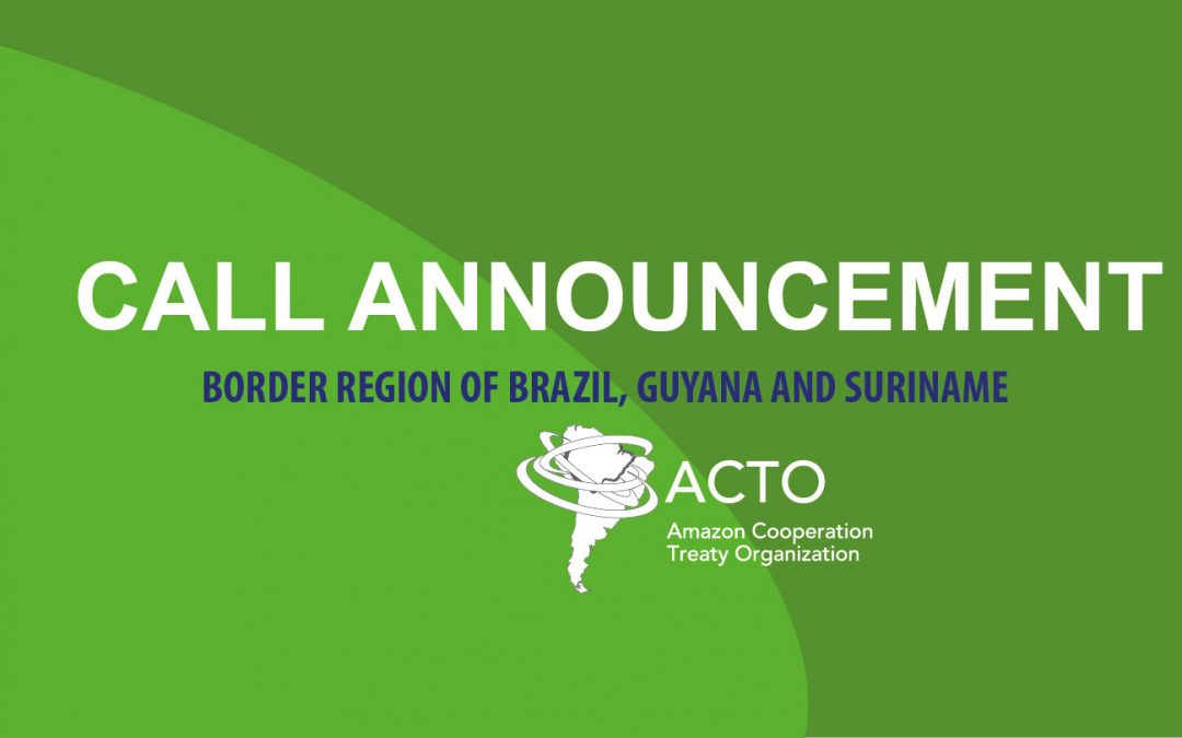 ACTO hires of consultancy for the preparation of reports on the analysis of the health situation of indigenous peoples: border region of Brazil, Guyana and Suriname