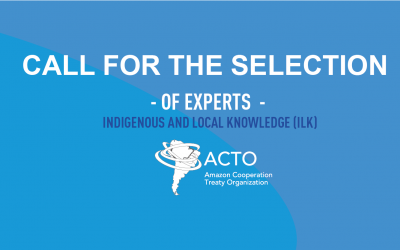 Call for the selection of experts  indigenous and local knowledge