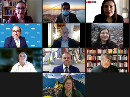 ACTO participates in webinar on international experiences in health of Amazonian indigenous peoples in the context of pandemic by COVID-19