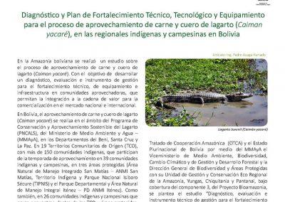Boletim nº2 Projeto Bioamazônia