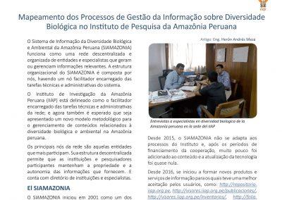 Boletim nº3 Projeto Bioamazônia