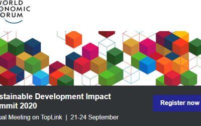 Cumbre sobre el Impacto del Desarrollo Sostenible del Foro Económico Mundial