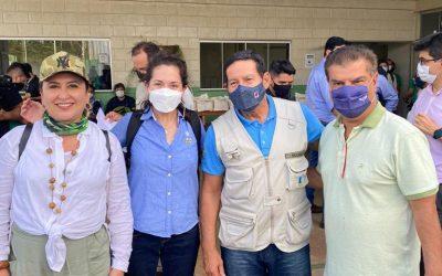 Delegação de diplomatas participa de missão à Amazônia brasileira liderada pelo Vice-Presidente do Brasil