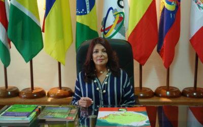 Embajadora María Jacqueline Mendoza Ortega es la nueva Secretaria General de la OTCA