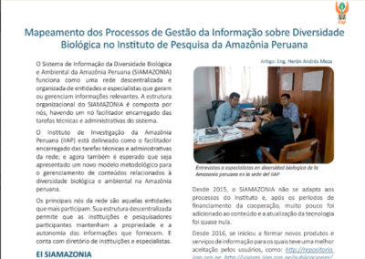 Boletín nº3 Proyecto Bioamazonia