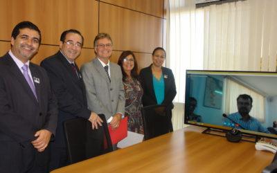 Sala de videoconferencia facilitará el intercambio de información entre las Cancillerías