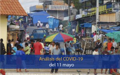 Análisis del impacto del coronavirus covid-19 en la Región Amazónica (11 de mayo)