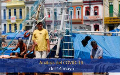 Análisis del impacto del coronavirus covid-19 en la Región Amazónica (14 de mayo)