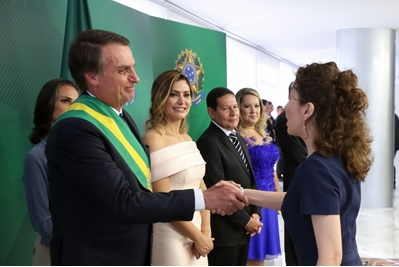 La OTCA estuvo presente en la posesión del excelentísimo Presidente del Brasil