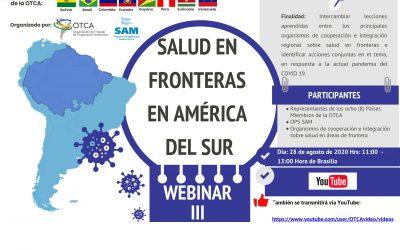 Webinario Salud en Fronteras en América del Sur