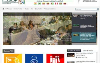 capacitación online en las funcionalidad de la PRIC