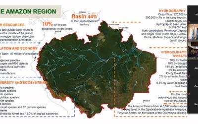 Principales componentes en la Gestión Integrada de los Recursos Hídricos transfronterizos es presentado en webinar de la RIOC
