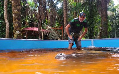 Centro de Rescate Amazónico cuenta con nuevos espacios para los manatíes