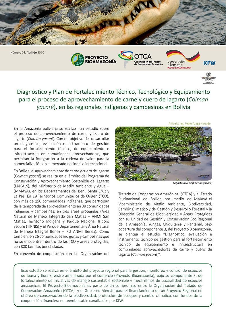 Boletín nº2 Proyecto Bioamazonia