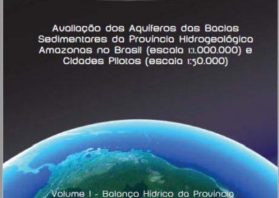 Evaluación del acuífero: cuencas sedimentarias de la província hidrogeológica de Amazonas (Brasil)