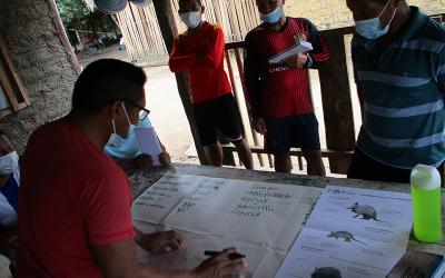Monitoreo de la fauna silvestre destinada al consumo en la Estrella Fluvial de Inírida EFI, Colombia