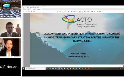Reunión de la Red Mundial de Cuencas: OTCA presenta iniciativas orientadas a la adaptación al cambio climático en la GIRH de la Cuenca Amazónicas