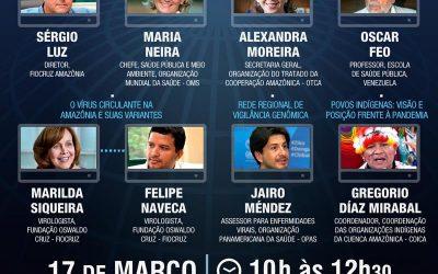 Seminario FIOCRUZ – Pandemia en la Pan Amazonía