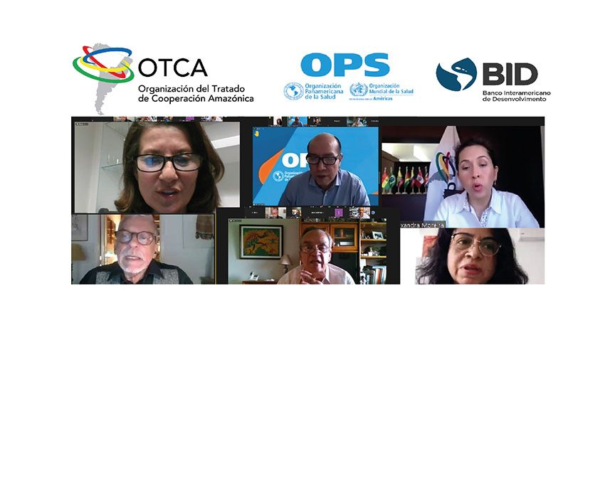 OTCA y Países Miembros acuerdan acciones para la elaboración de planes de contingencia para el combate al COVID 19 en regiones fronterizas amazónicas