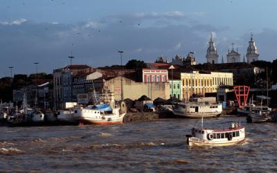 La Cuenca Amazónica de cara al Océano Atlántico