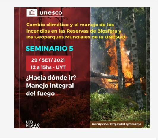 La OTCA participa en el webinar de la UNESCO sobre Manejo Integral del Fuego